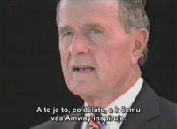 George Bush na semináři Amway