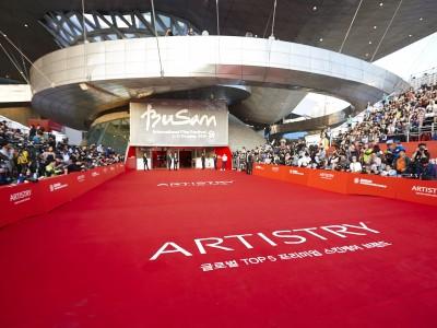 ARTISTRY - Diamantový sponzor Mezinárodního filmového festivalu v Busanu