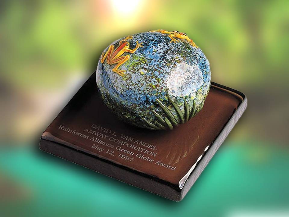 Amway - Rainforest Alliance Green Globe Award