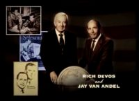 Profiles of the American dream: Rich DeVos and Jay Van Andel