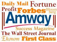 Napsali o Amway - logo