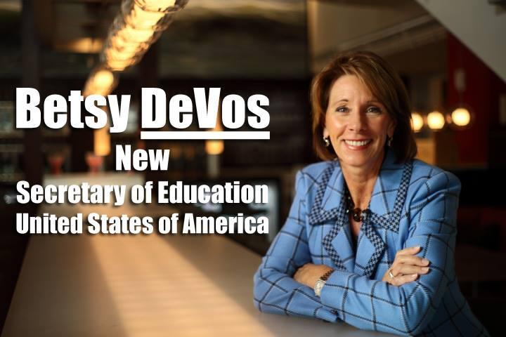 Nová ministryně školství Betsy DeVos
