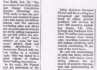 The Asian Age (20.2.2003) - Prize Chits Act doesn't apply to direct sale, says minister