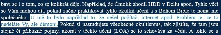 Printscreen 1 - diskuze s uživatelem LKD (LHK, Lucas Nicholas, Lukáš Havlíček)