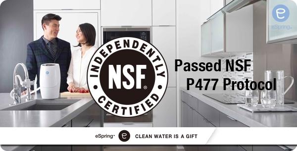 Amway eSpring splnil podmínky certifikace NSF P477