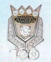 Odznak Crown Ambassador 100 Plus