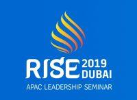 Rise Dubai 2019 Amway Pacific Leadership Seminar logo