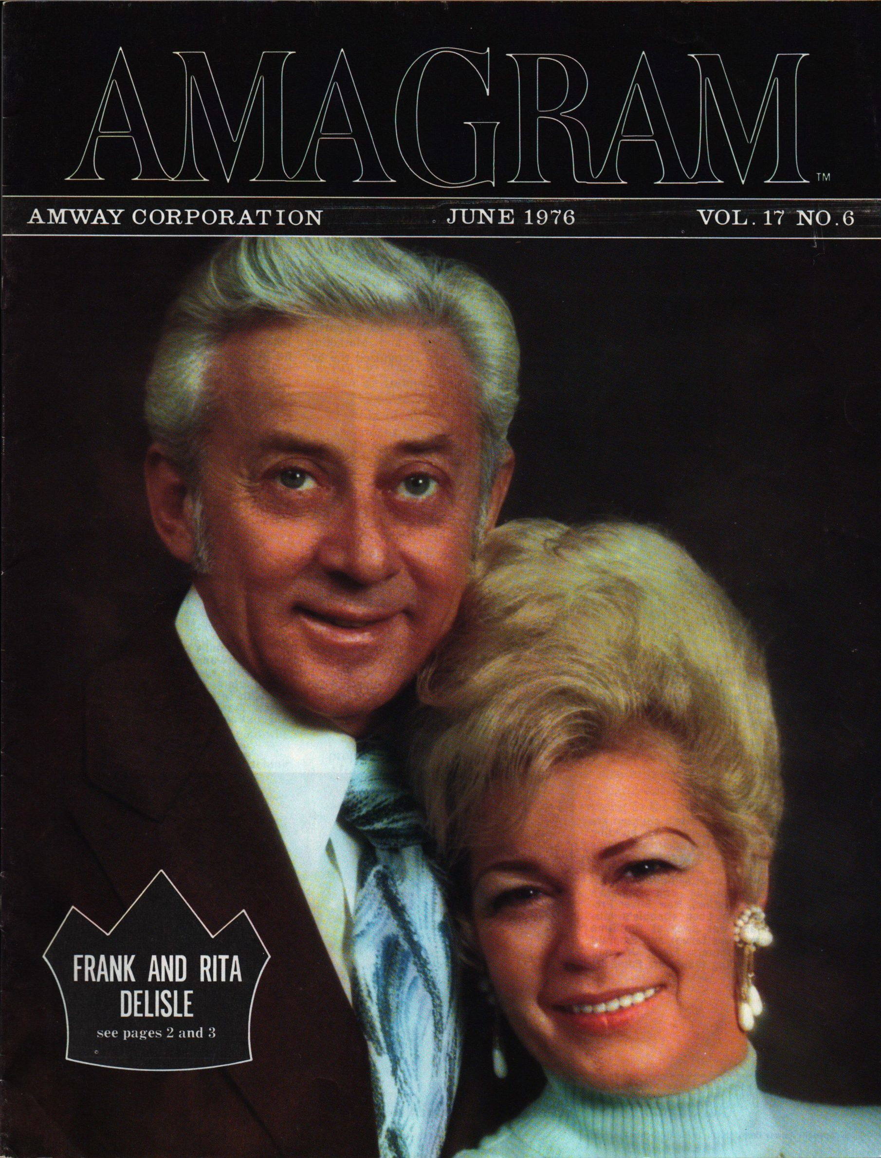Frank a Rita Delisle - Crown (Amagram 6/1976)